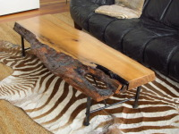 Myrtle Wood Coffee Table