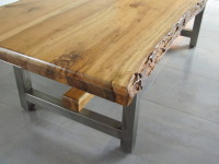 Detail of Myrtle Wood Table